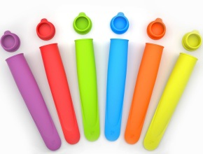 Silicone Ice Pop Molds Make Mess Free Ice Treats