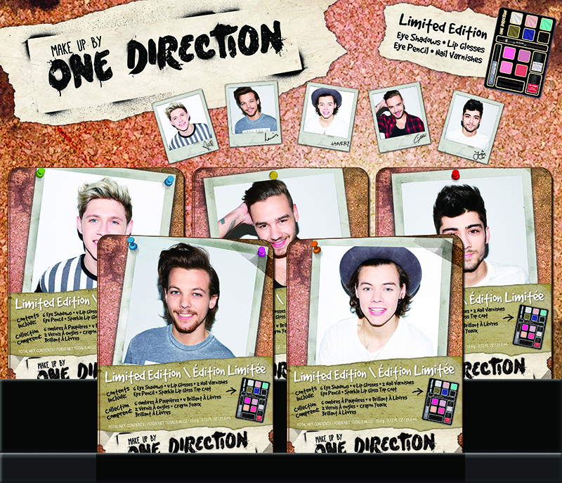 One Direction's make-up line, Limited-Edition, Beauty Collection