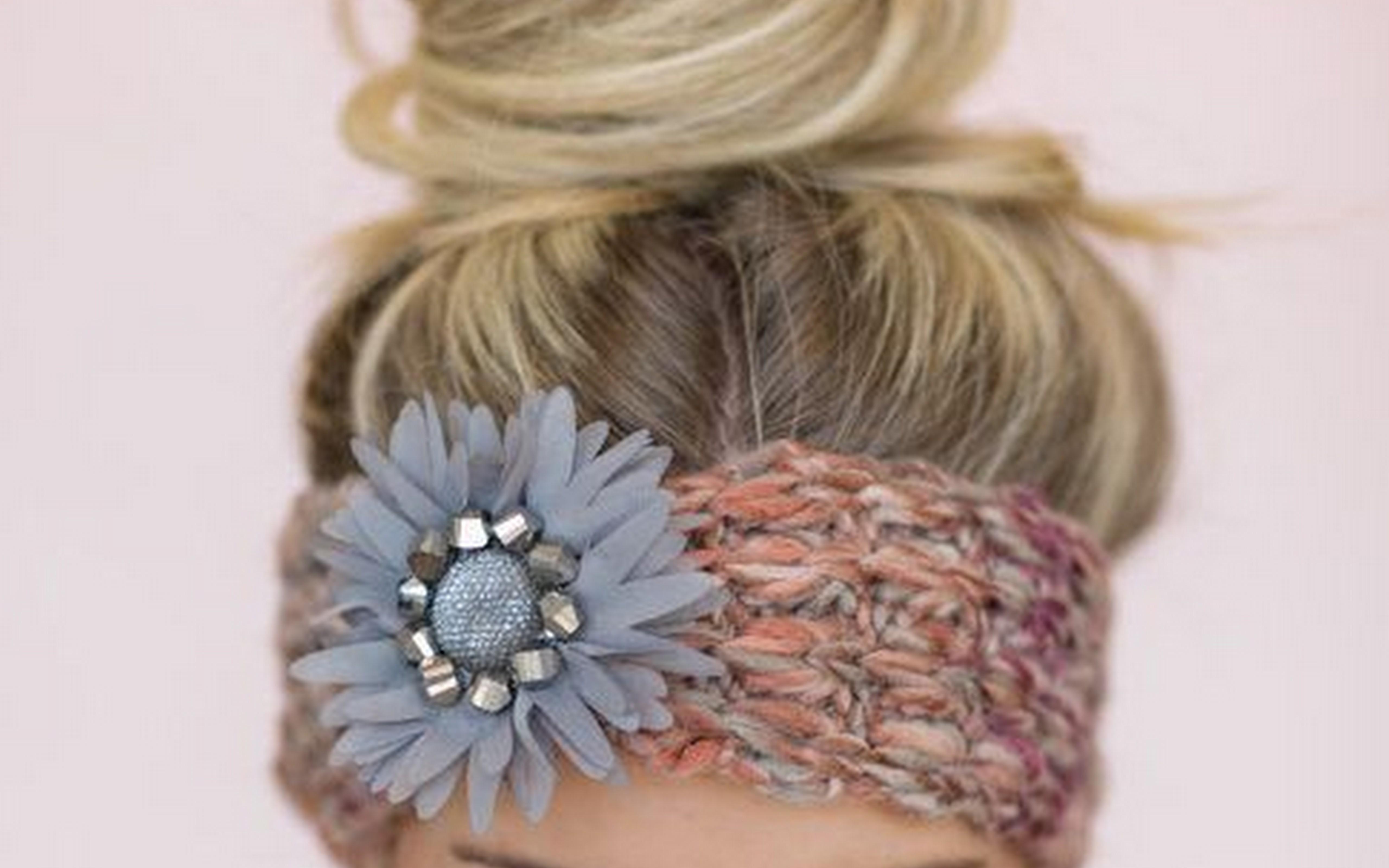 Boho Knit Headband