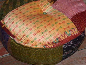 Boho Pouf from Pier 1 Imports