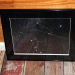 Photographic Sky Chart, a Star Named Terri