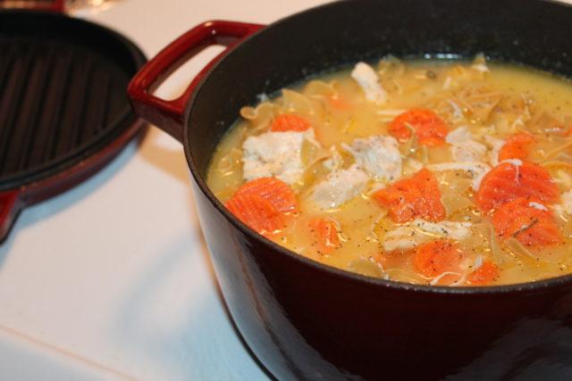 Three Step, Chicken Noodle Soup Recipe, KitchenAid