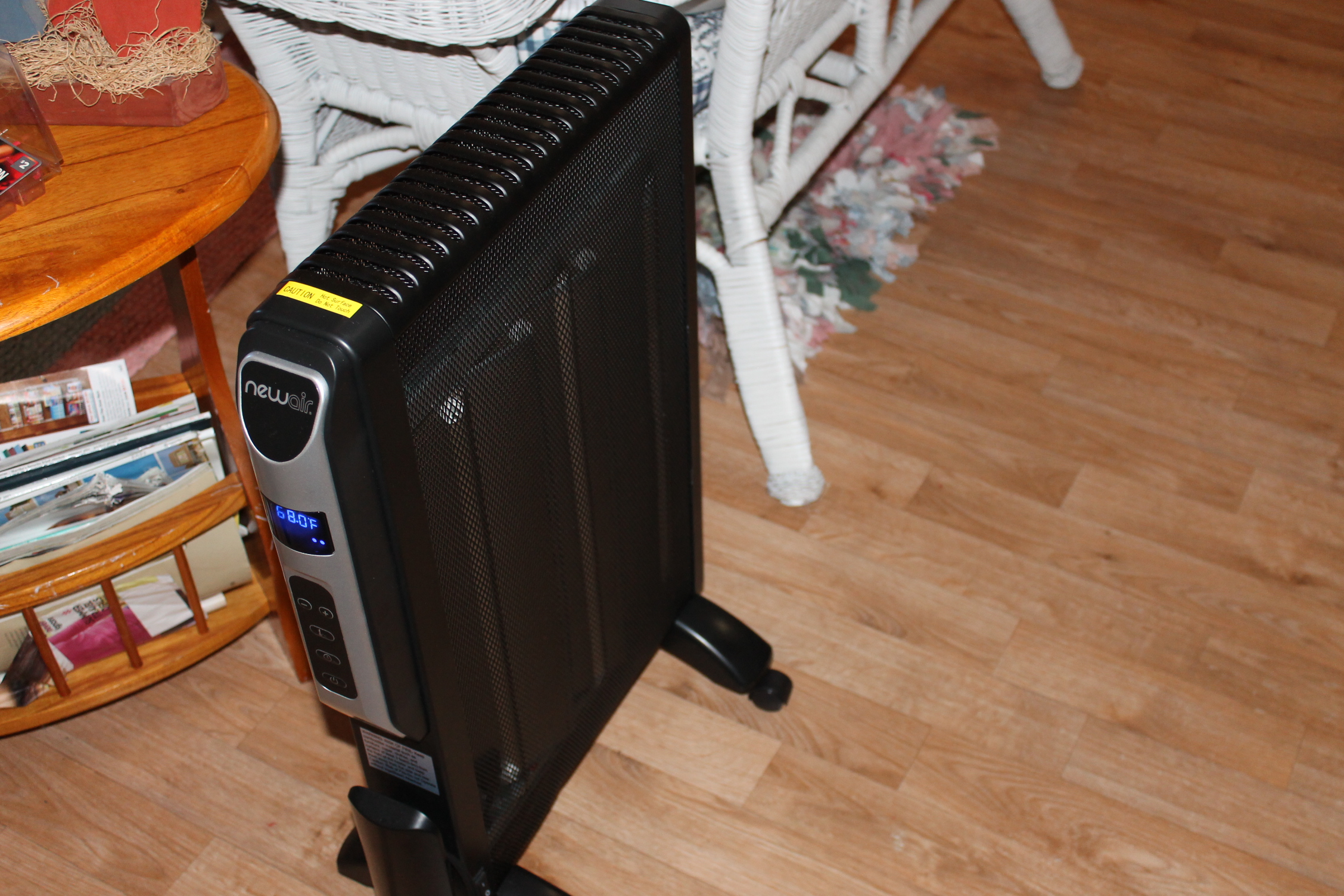NewAir AH-470 Flat Panel Micathermic Space Heater