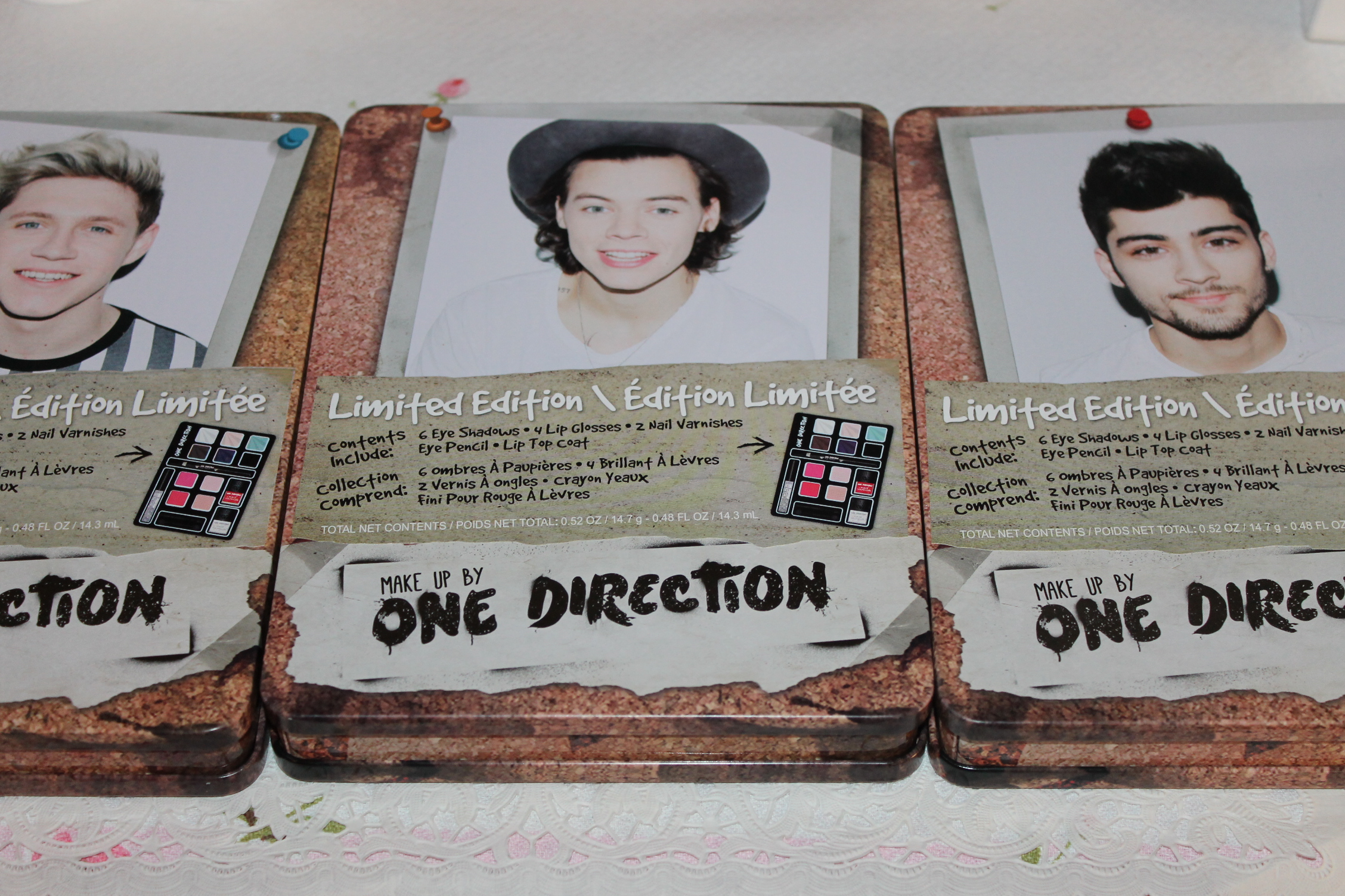 One Direction Makeup Collection