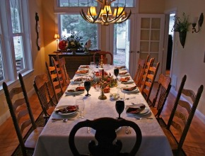 Thanksgiving Etiquette Table Setting Guide