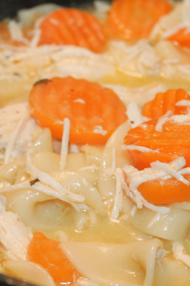 Three Step, Chicken Noodle Soup Recipe