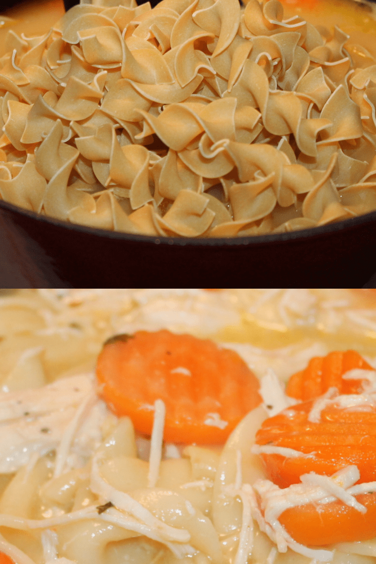 hree Step, Chicken Noodle Soup Recipe