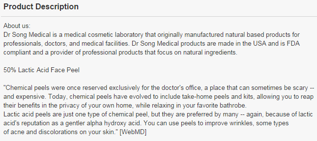 Dr Song Description
