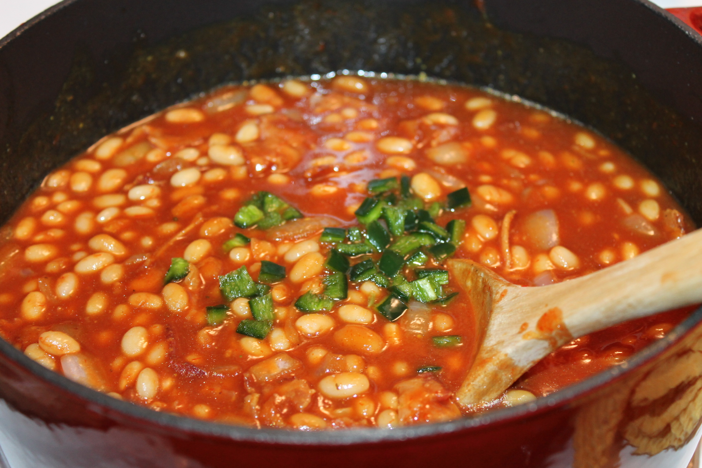 Baked Beans made from scratch