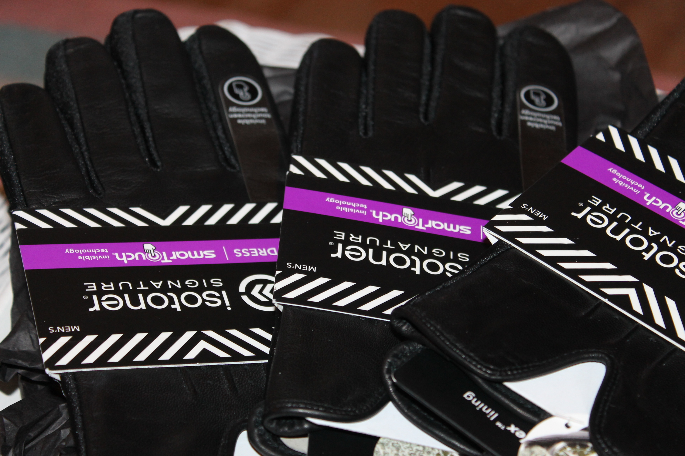 Mens gloves isotoner -  Isotoner Gloves Mens Gloves