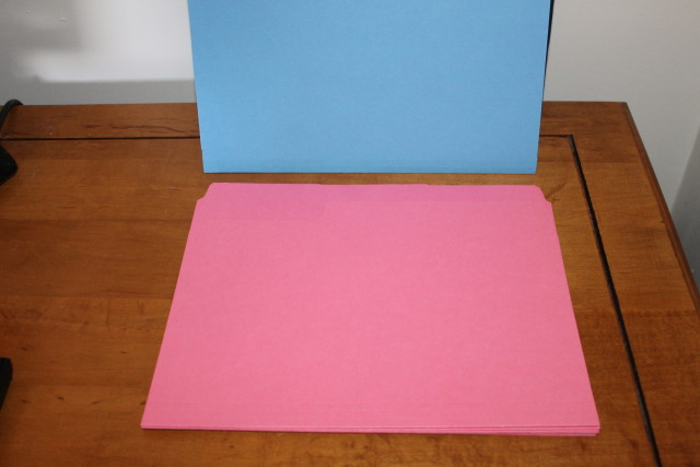 Smead 11820 Dark Pink SuperTab File Folders with Oversized Tab