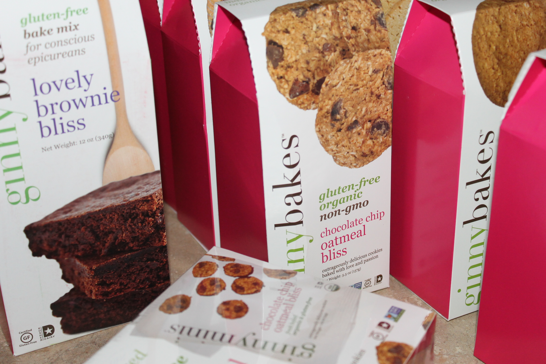 ginnybakes, Gluten Free & Organic Cookies