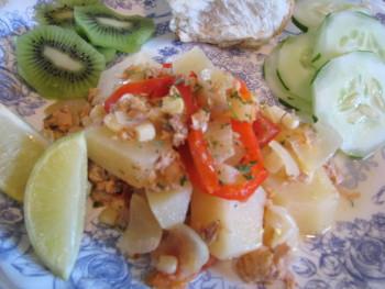 Salmon Stew, Recipe