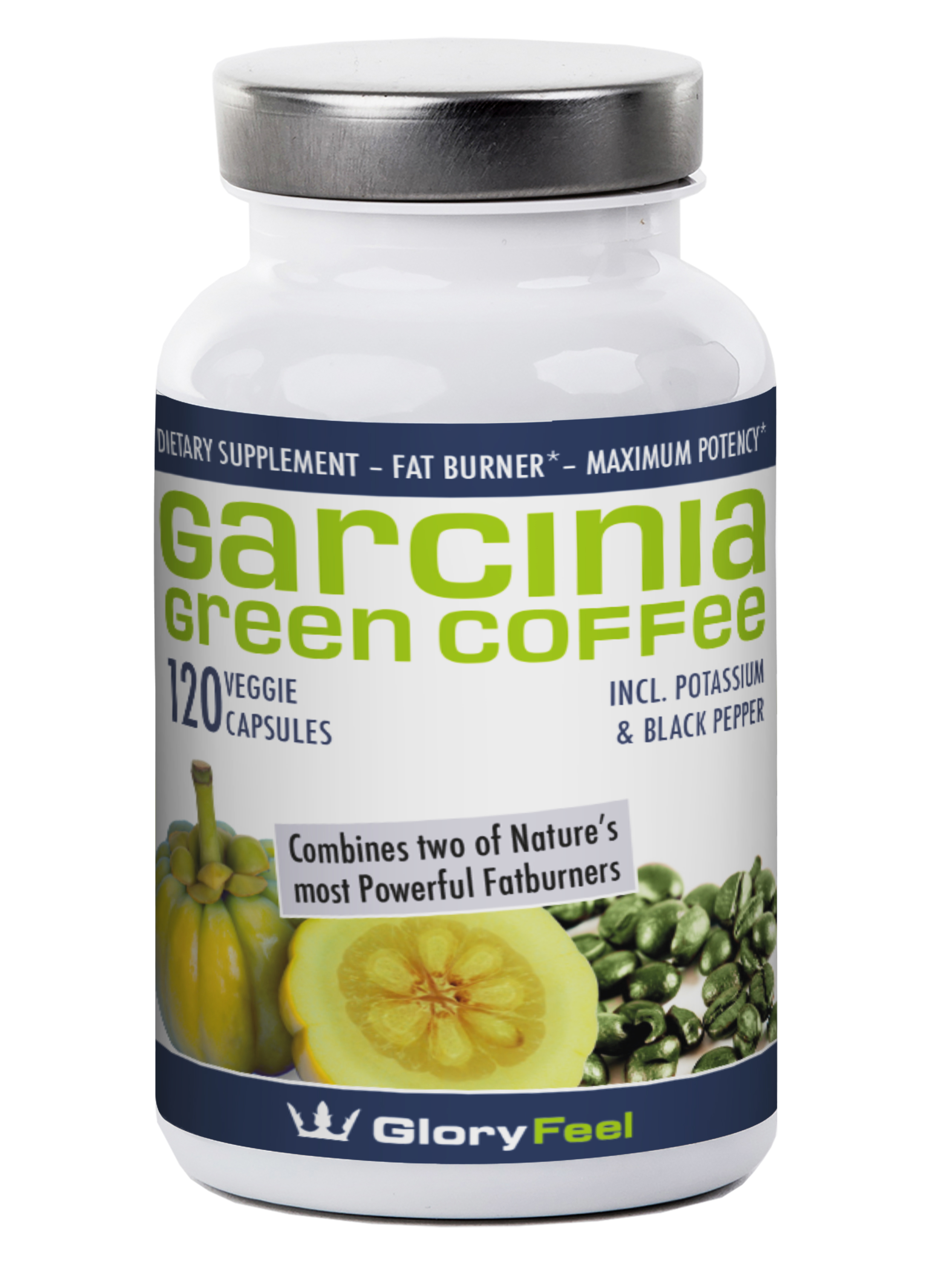#gloryfeel Pure Garcinia Cambogia Extract plus Green Coffee Bean Extract