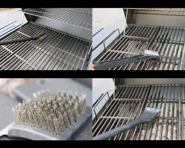 BBQ Grill Brush with Scraper