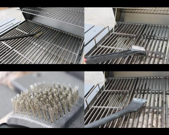 BBQ Grill Brush with Scraper