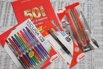#shopletreviews Celebrating 50 years of Pentel writing
