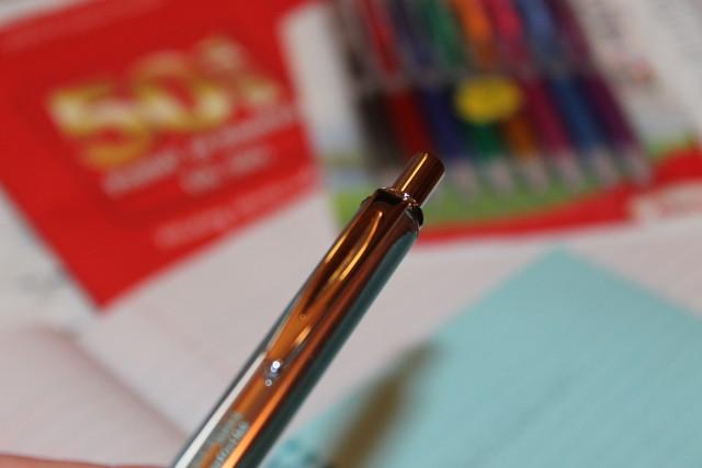 Pentel EnerGel Alloy RT Roller Ball Retractable Gel Pen