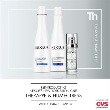$1 off coupon, #NewNexxusCaviar Therappe Shampoo & Humectress Conditioner