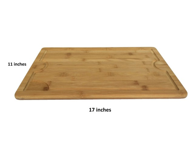 bamboo cutting board large size shabby chic boho. Black Bedroom Furniture Sets. Home Design Ideas