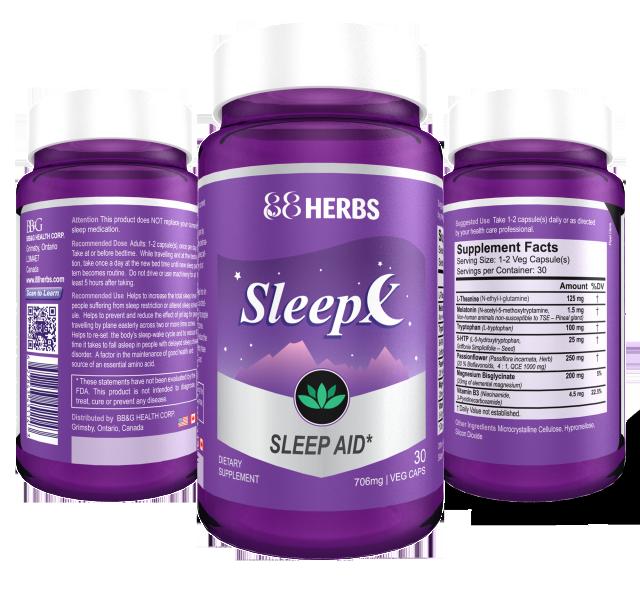 Sleep-X   Natural Sleep Supplement #SleepX