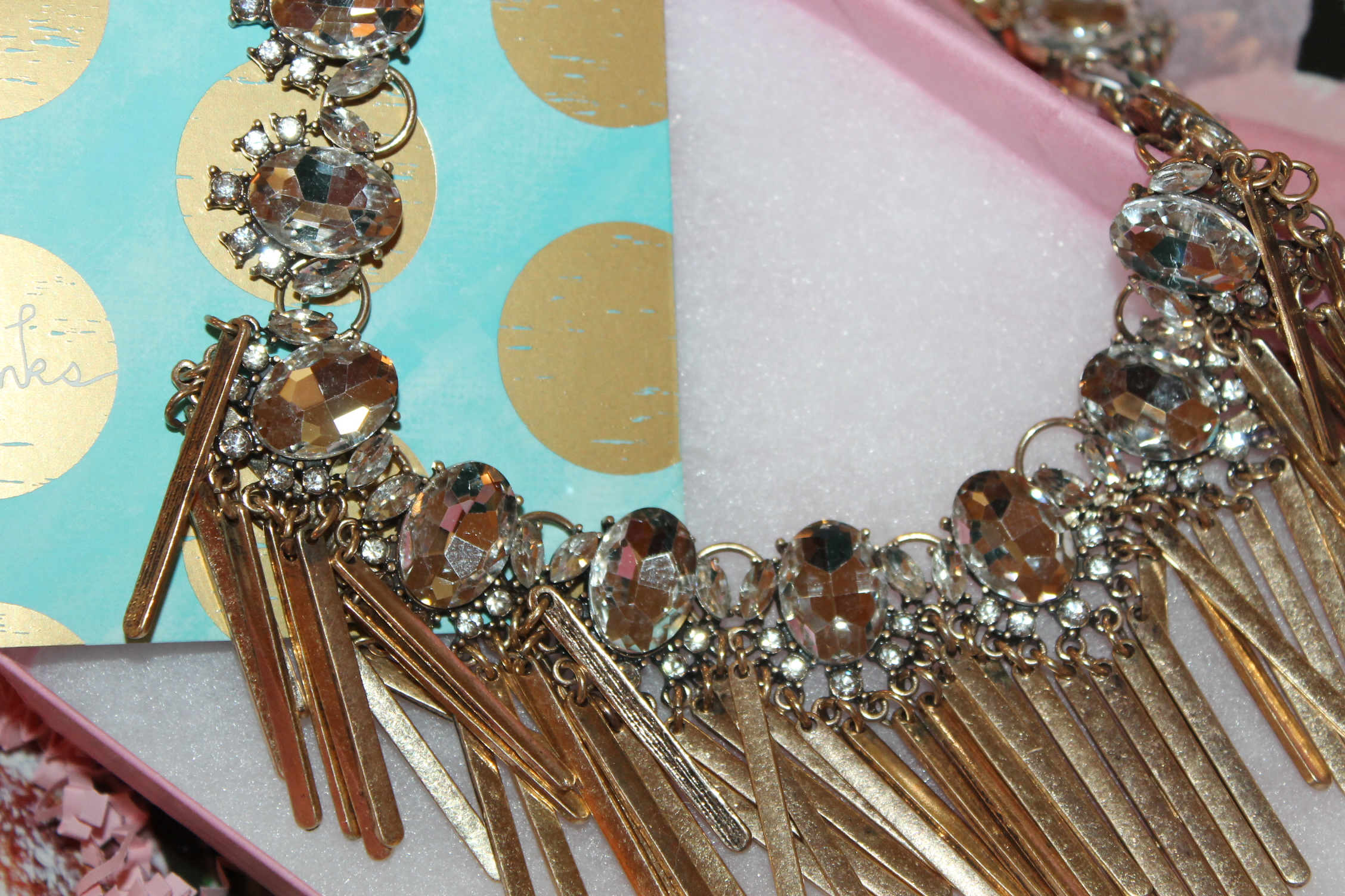 Bombshell Fringe Necklace #thejewelbar