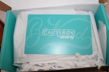 Sevenly's newest product — The CAUSEBOX