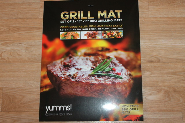 Yumms! BBQ Mat #yummsbbqgrillmat
