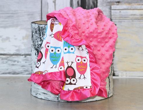 Minky Blanket Review #screamingowl