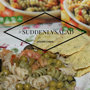 Suddenly Salad Pasta Salad, Betty Crocker #SuddenlySalad #coupons PLUS $15 PayPal Cash Giveaway
