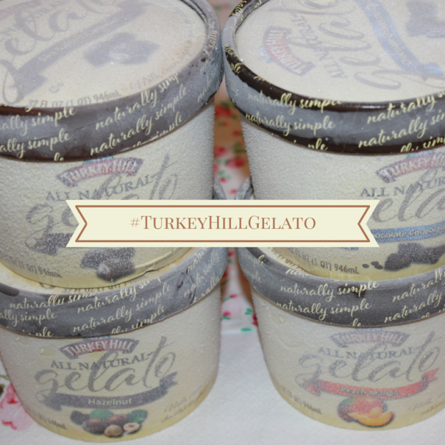 Turkey Hill All Natural Gelato #TurkeyHillGelato #sponsored