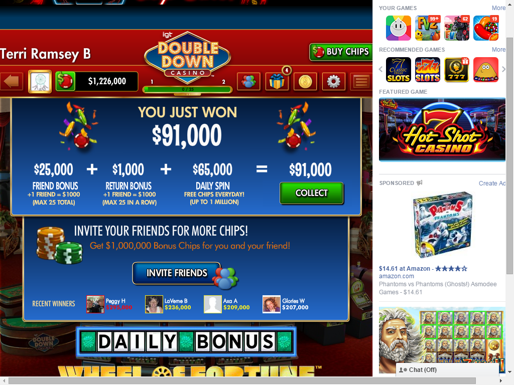 DoubleDown Casino is the only online casino that delivers an authentic Vegas experience to the world.