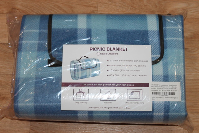 Extra Large Picnic Blanket & Outdoor Blanket with Waterproof Backing #praticopicnic