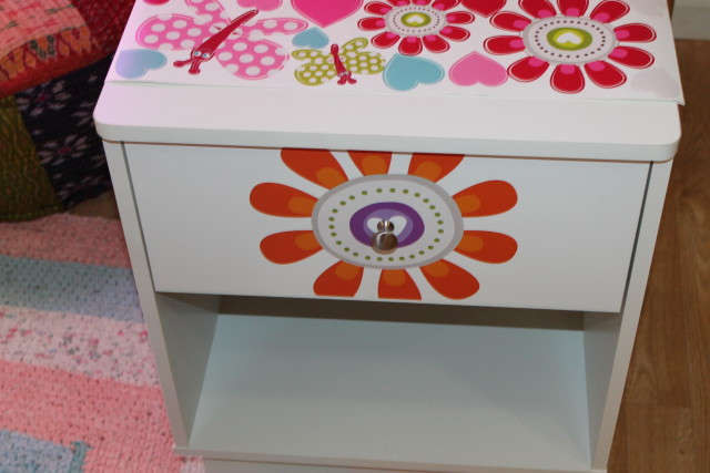South Shore Litchi 1-Drawer Night Stand with Ottograff Decal #ad #OTTOGRAFFit #SouthShoreFurniture