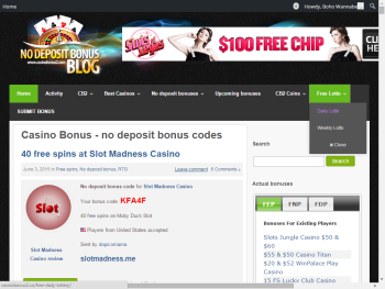 dreams casino latest no deposit bonus codes