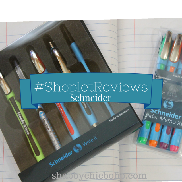 """Write"" on Schneider #shopletreviews"