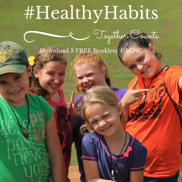 Together Counts/Girl Scouts of the Nation's Capital FREE booklets #HealthyHabits #sponsored