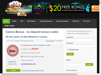 Casino Bonus – no deposit bonus codes