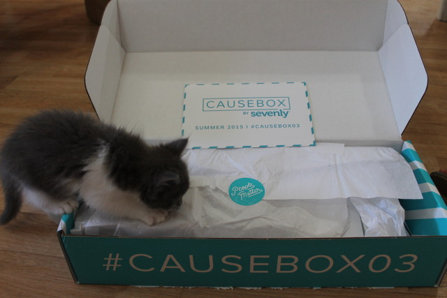CAUSEBOX  Summer #CAUSEBOX03  #ThisBoxMatters  #sevenly @sevenlycausebox
