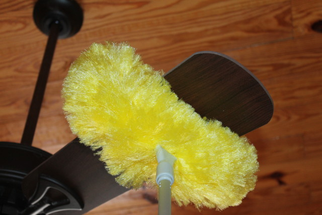 Estilo ceiling fan duster with extension pole