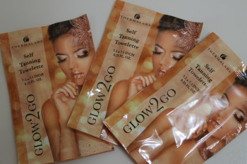 Glow2Go Self Tanning Towelettes #thermalabs