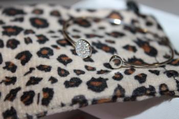 MB Jewelry Shop Initial Cuff Bracelet #mbjewelryshop