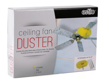 Cleaning made easier with #Estiloceilingfandusterwithextensionpole
