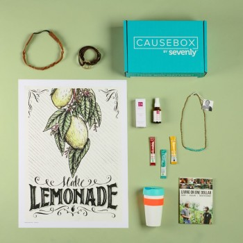 CAUSEBOX #CAUSEBOX03  #ThisBoxMatters  #sevenly @sevenlycausebox