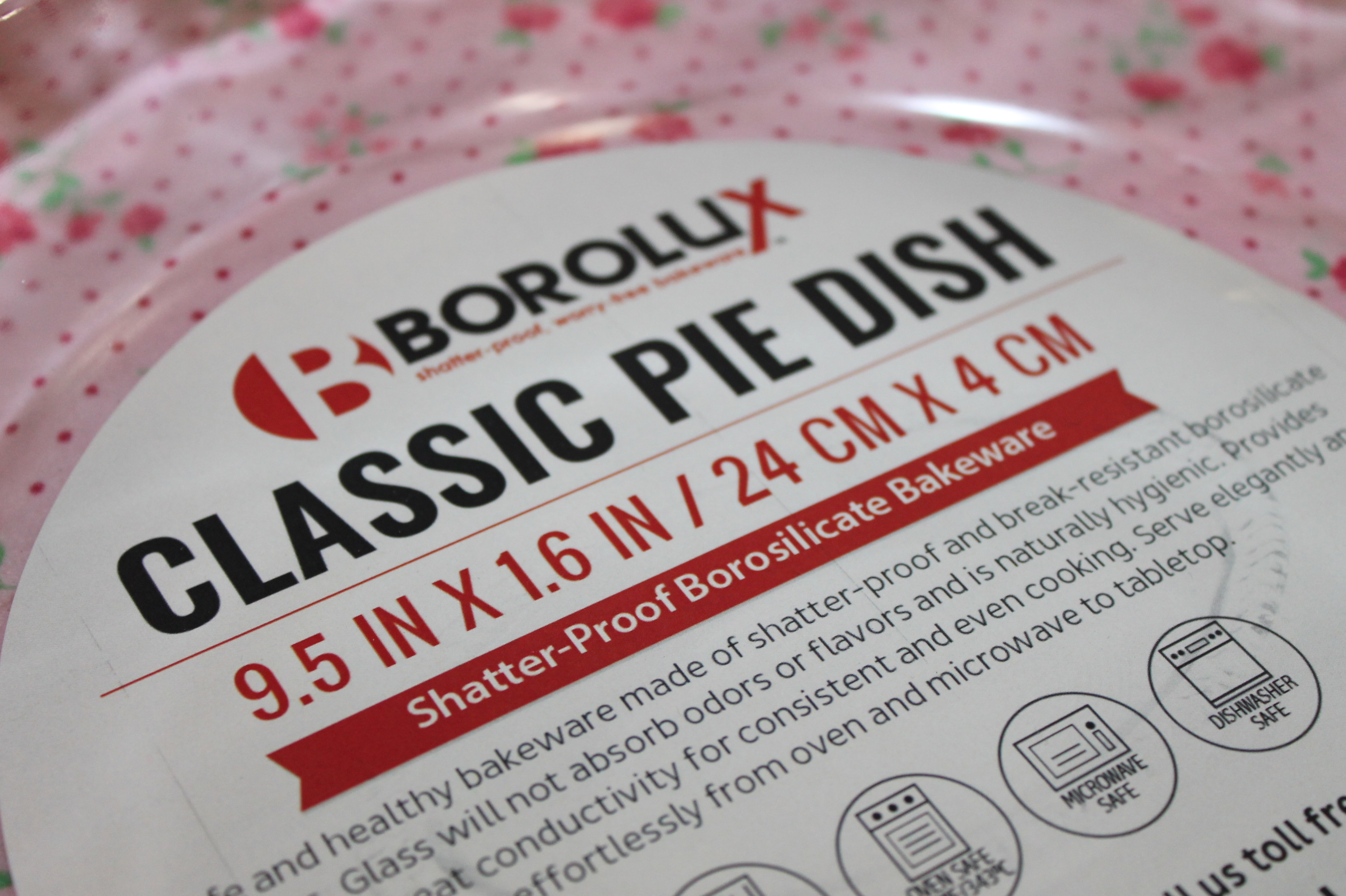 Berry Pie Recipe & New Pie Pan