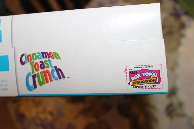 General Mills Box Tops for Education at Walmart #sponsored