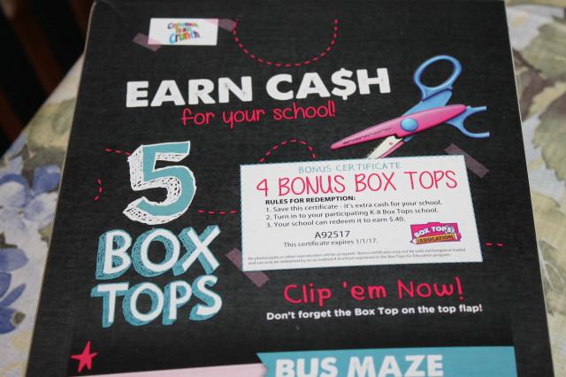 General Mills Box Tops for Education at Walmart #sponsored