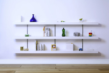 Stylish Wall-to-wall Shelves