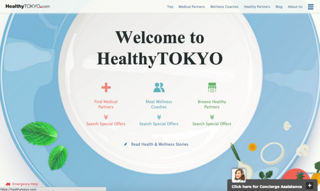 For a healthy lifestyle in Japan with HealthyTokyo.com