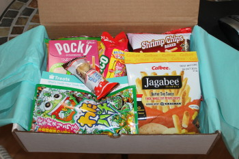 Subscription Box Try Treats from Around the World #internationalsnacks #holidaygiftguide2015